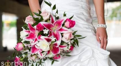 دسته گل عروس لیلیم جدید و زیبا