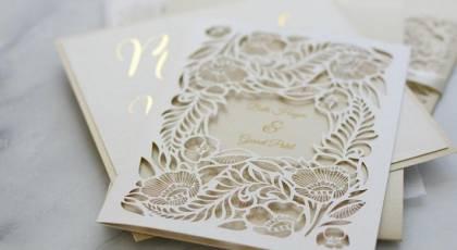 کارت عروسی خاص و متفاوت 2019 | انواع مدل های کارت عروسی لوکس