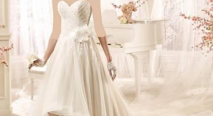 مدل لباس عروس جلو کوتاه پشت بلند جدید و بسیار زیبا