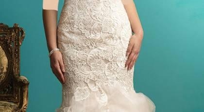 مدل لباس عروس سایز بزرگ جدید و زیبا 2017