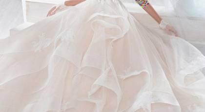 مدل های لباس عروس پفی 2018 برای عروس خانم های شیک