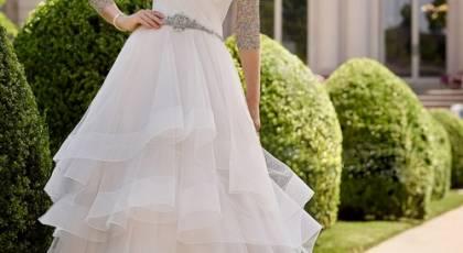 ژورنال محبوب ترین لباس عروس شیک 2018
