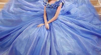40 لباس عروسی و نامزدی آبی بینظیر که نمیتوانید از آنها چشم بردارید!