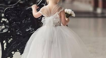 مدل لباس عروس بچه گانه جدید و بسیار شیک