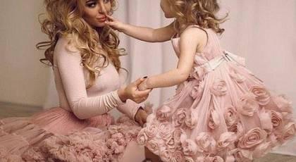 40 ست لباس مادر و دختر مجلسی فوق العاده زیبا 2019