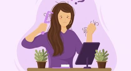 کمبود کدام ویتامین باعث ریزش مو می شود ؟