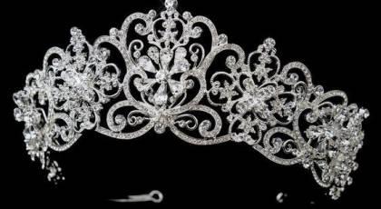 تاج عروس مدل ملکه ای و فرحی 2019