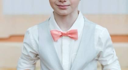 مدل موی پسرانه بچگانه مخصوص عروسی