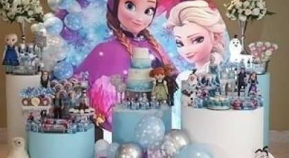 تزیین جشن تولد کودک دختر و پسر با تم شخصیت های کارتونی