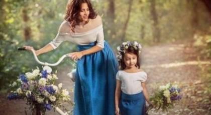 جدیدترین ست لباس مادر و دختر برای مهمانی 2022