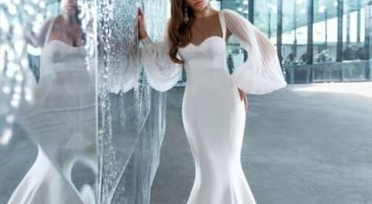 لباس عروس آستین پفی 2021