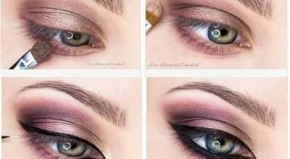 22 آموزش گام به گام زیباترین مدل های آرایش و سایه چشم جدید