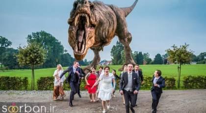 عکس های خلاقانه و بسیار جالب عروسی که تا به حال نظیرش را ندیده اید!