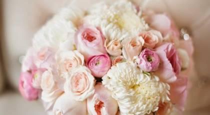 مدل های دسته گل عروسی رز صورتی بسیار زیبا و رمانتیک