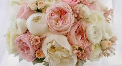 دسته گل عروس بهاری رومانتیک جدید