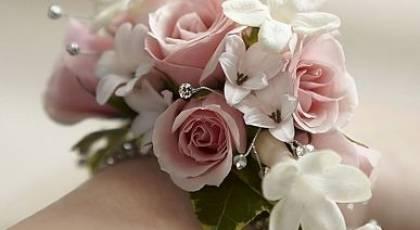 مدلهای جدید دسته گل حلقه ای دستبندی عروس