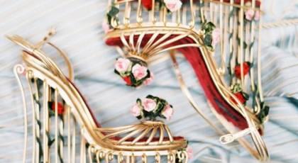 30 مدل کفش عروس لژدار جذاب 2017
