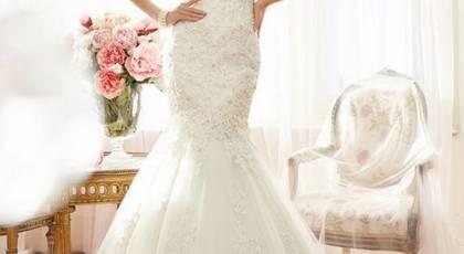 لباس عروس مدل ماهی جدید و زیبا 2017