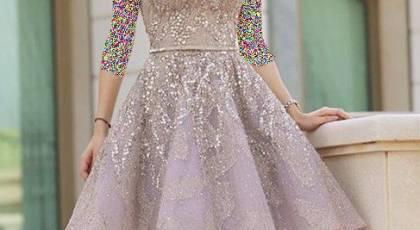مدل های لباس مجلسی و شب کوتاه دخترانه برای خانم های شیک