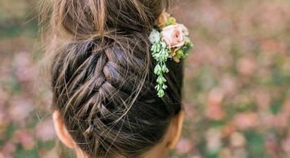30 مدل مو بچگانه دختر برای مجالس عروسی جدید 96