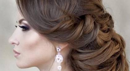 21 مدل موی عروس جدید و رمانتیک