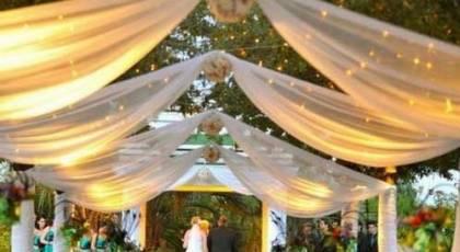 30 تزیین ژورنالی ورودی باغ تالار عروسی 2017